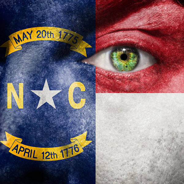 Art Poster featuring the photograph Go North Carolina by Semmick Photo