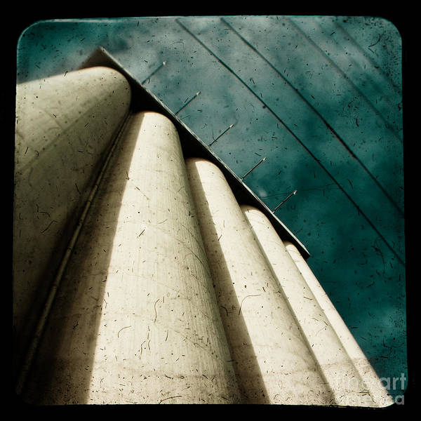 Industrial Poster featuring the photograph Impending Doom by Andrew Paranavitana