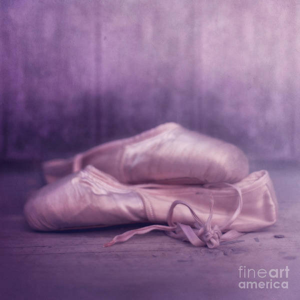 Ballettshoes Poster featuring the photograph Les Chaussures De La Danseue by Priska Wettstein