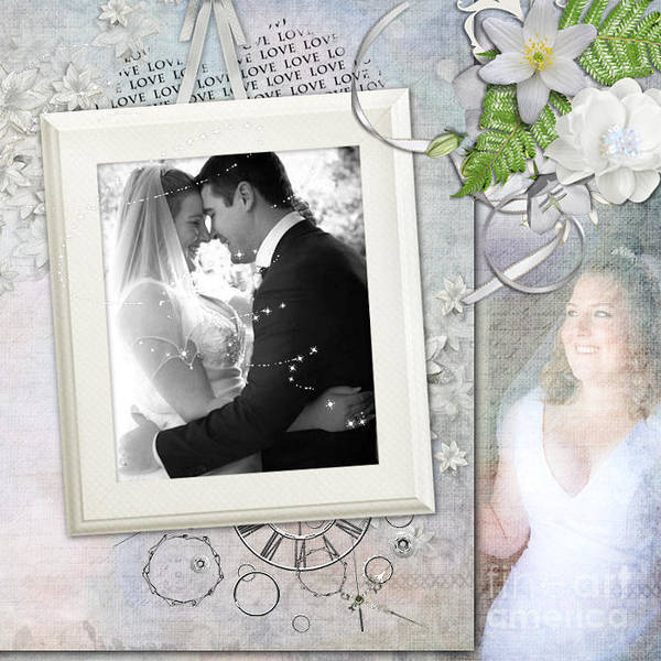 Wedding Photographs Poster featuring the photograph Looking Toward The Future by Joanne Kocwin
