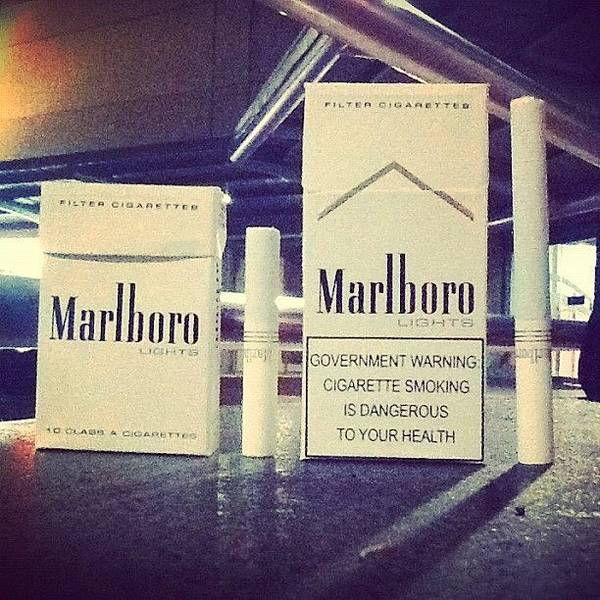 Marlboro Mini  Now Available On Stores Poster