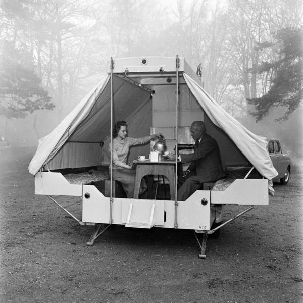 Adult Poster featuring the photograph Mobile Home by Harry Kerr