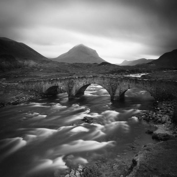 Scotland Poster featuring the photograph Scotland Sligachan River by Nina Papiorek