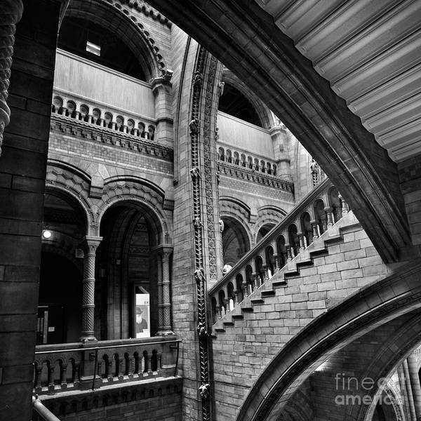 Natural Poster featuring the photograph Stairs And Arches by Martin Williams