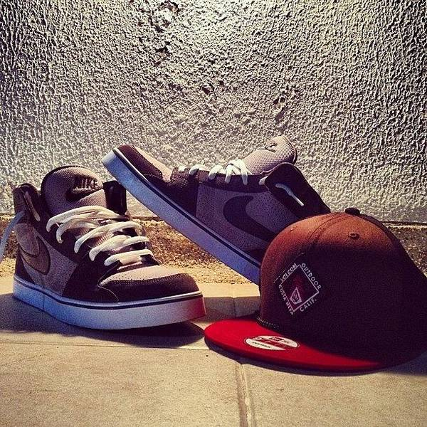 reputable site 3a48a 8076c Shoes Poster featuring the photograph  swag  nike  shoes  volcom  loveit by