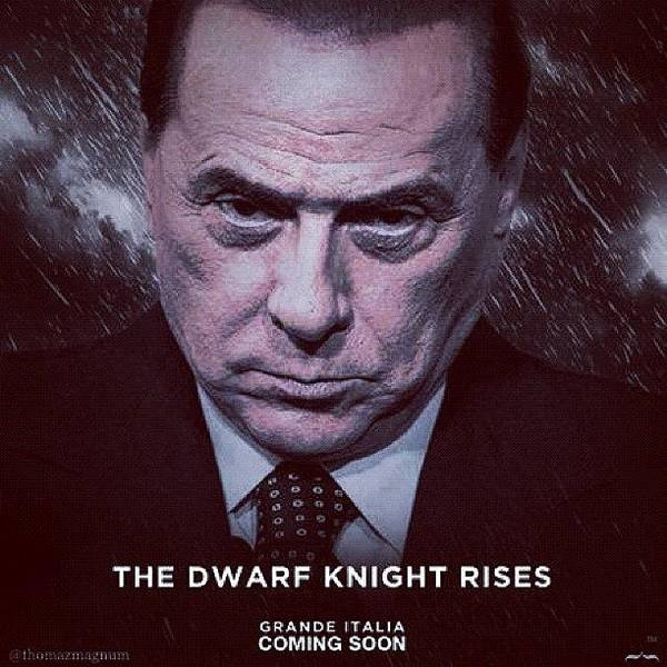 Berlusconi Poster featuring the photograph The Dwarf Knight by Thomas Magnum