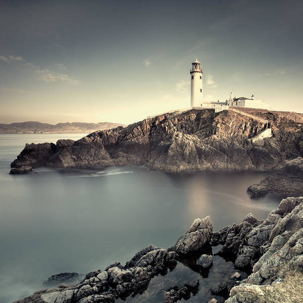 Lighthouse Poster featuring the photograph The Lighthouse by Pawel Klarecki