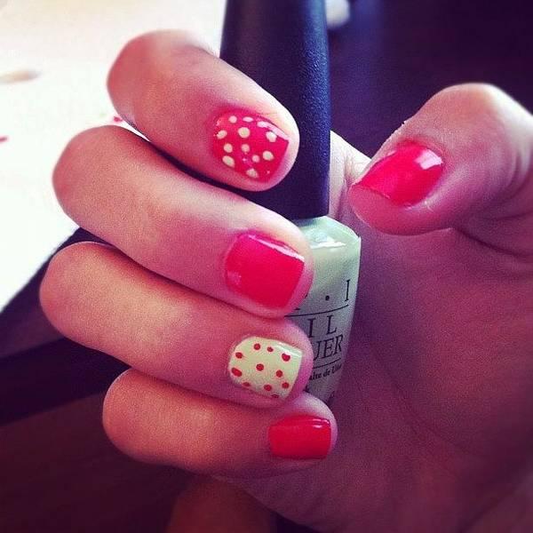 watermelon #nails #nailart #fashion Poster by Karina Garay