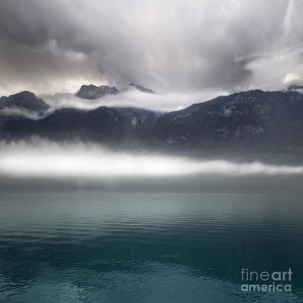 Lake Poster featuring the photograph Layers by Angel Ciesniarska