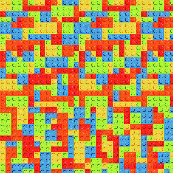 Poster featuring the mixed media Lego by Zachary Govitz