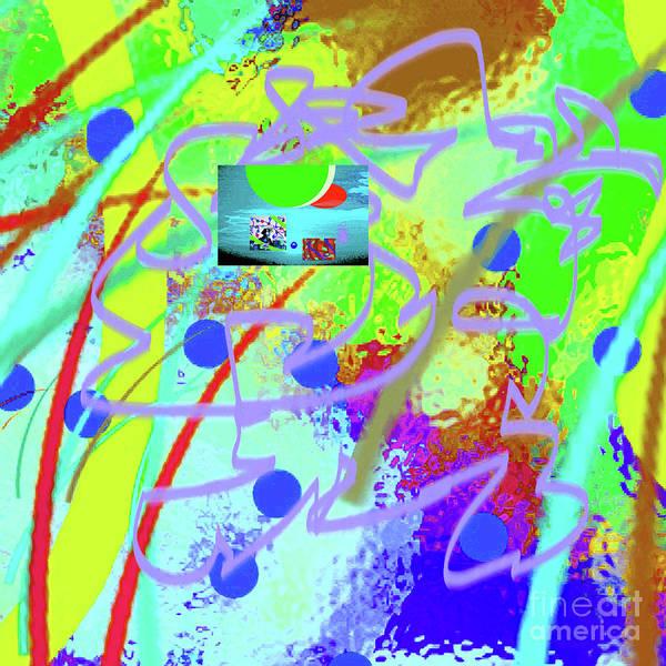 Walter Paul Bebirian Poster featuring the digital art 3-10-2015dabcdefghijklmn by Walter Paul Bebirian