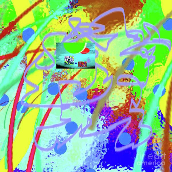 Walter Paul Bebirian Poster featuring the digital art 3-10-2015dabcdefghijklmno by Walter Paul Bebirian