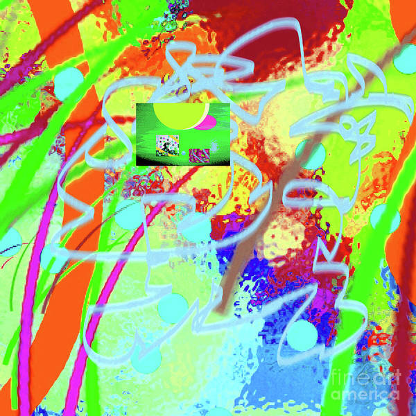 Walter Paul Bebirian Poster featuring the digital art 3-10-2015dabcdefghijklmnopqrt by Walter Paul Bebirian