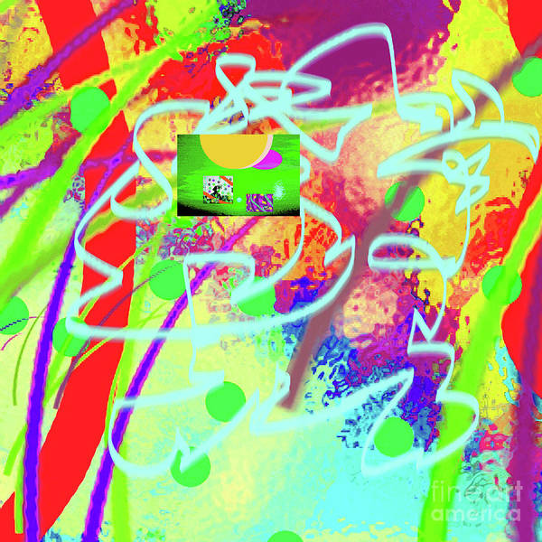 Walter Paul Bebirian Poster featuring the digital art 3-10-2015dabcdefghijklmnopqrtuvw by Walter Paul Bebirian