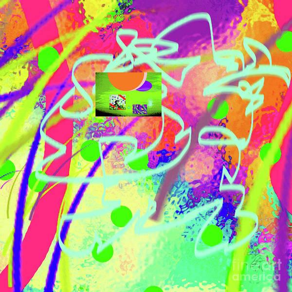 Walter Paul Bebirian Poster featuring the digital art 3-10-2015dabcdefghijklmnopqrtuvwxy by Walter Paul Bebirian