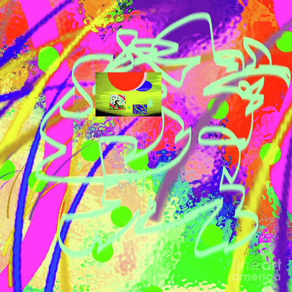 Walter Paul Bebirian Poster featuring the digital art 3-10-2015dabcdefghijklmnopqrtuvwxyza by Walter Paul Bebirian