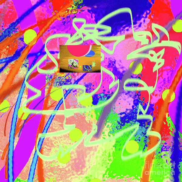 Walter Paul Bebirian Poster featuring the digital art 3-10-2015dabcdefghijklmnopqrtuvwxyzabcd by Walter Paul Bebirian