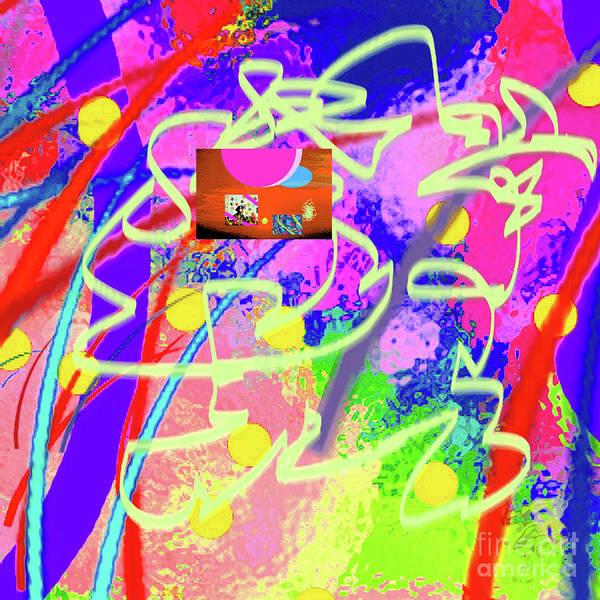 Walter Paul Bebirian Poster featuring the digital art 3-10-2015dabcdefghijklmnopqrtuvwxyzabcdef by Walter Paul Bebirian