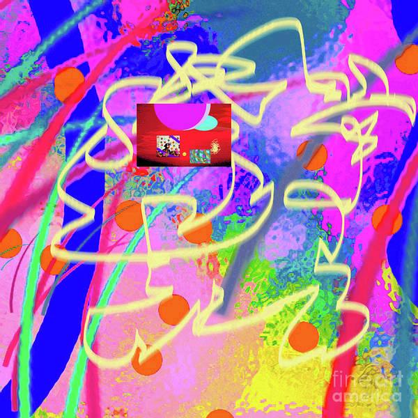 Walter Paul Bebirian Poster featuring the digital art 3-10-2015dabcdefghijklmnopqrtuvwxyzabcdefghi by Walter Paul Bebirian