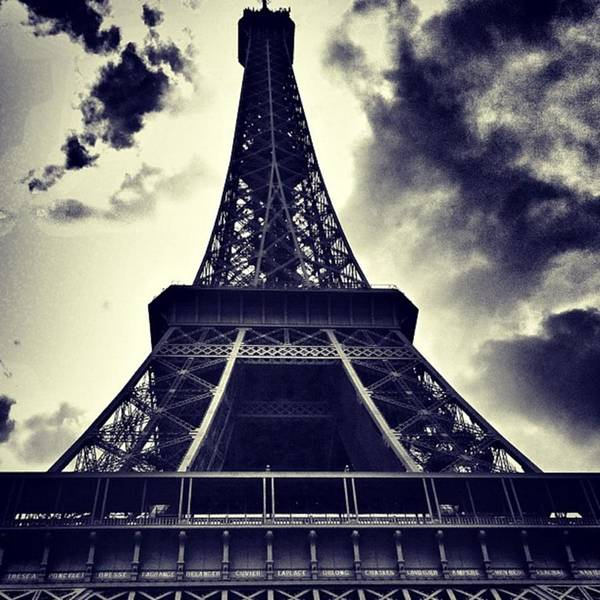 Instaaddict Poster featuring the photograph #paris by Ritchie Garrod