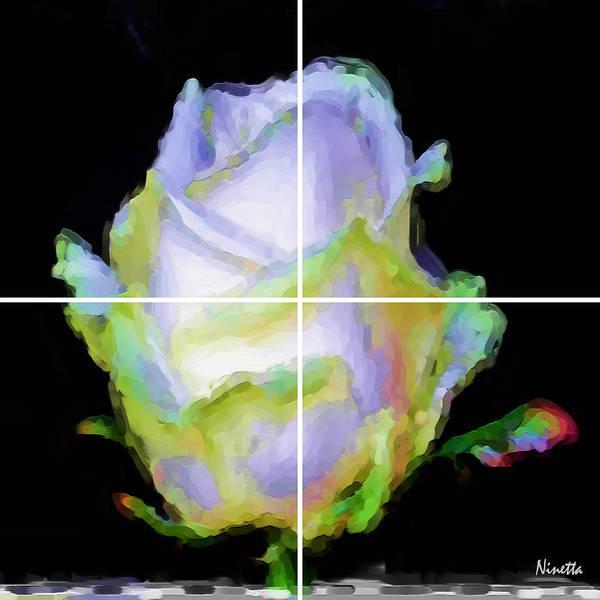 Flower Poster featuring the digital art 5. Innocence Artwork In Poster by Andrea N Hernandez