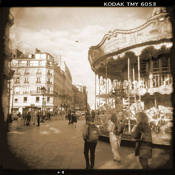Square Poster featuring the photograph A Walk Through Paris 4 by Mike McGlothlen