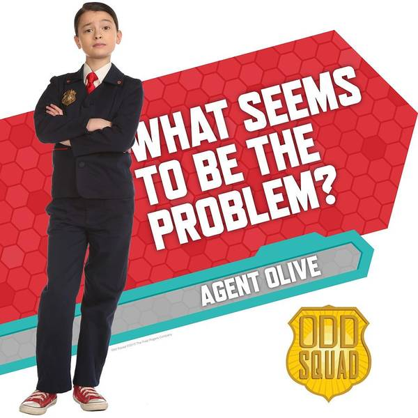 Agent Olive Poster by Odd Squad