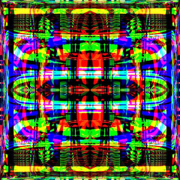 Digital Poster featuring the digital art Arca by Blind Ape Art