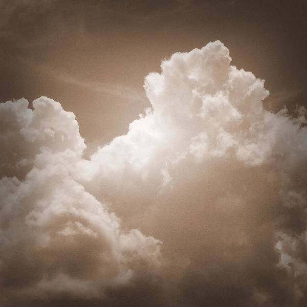 Biblical Clouds Poster featuring the photograph Biblical Clouds by Keri Renee