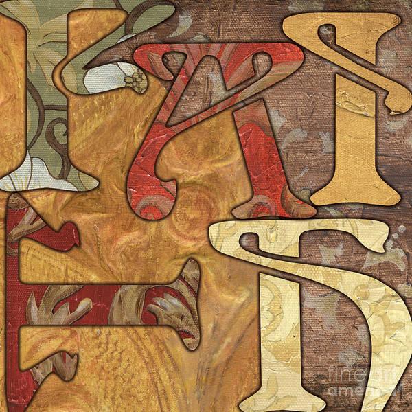 Faith Poster featuring the painting Bohemian Faith by Debbie DeWitt
