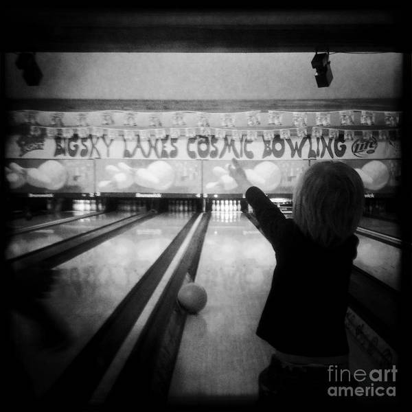 Bowling Poster featuring the photograph Bowl-a-rama by Joyce Kerr