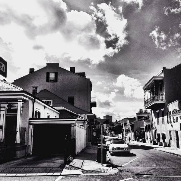 New Orleans Poster featuring the photograph Bywater In Black And White by Leigh Ann Raab