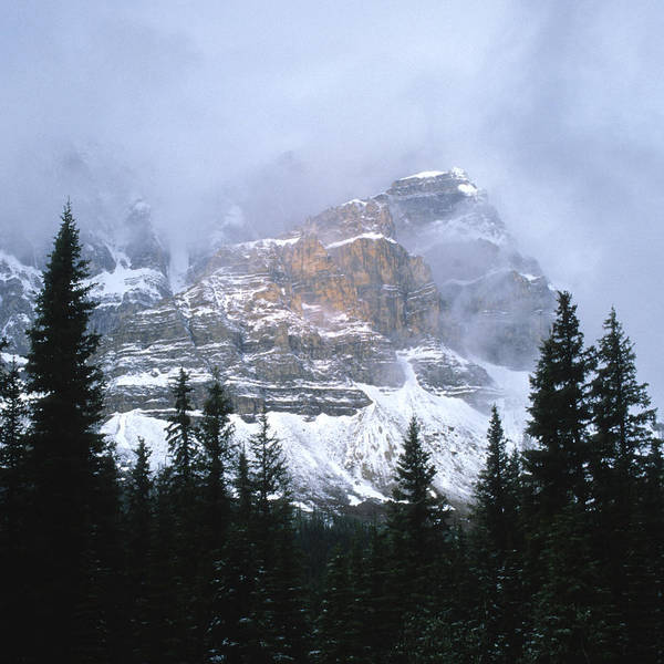 Alberta Poster featuring the photograph Clearing Storm by Sandra Bronstein