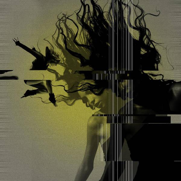 Gymnastics Poster featuring the photograph Crash by Naxart Studio