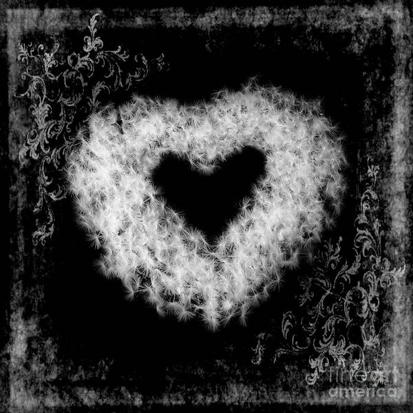 Dandelion Poster featuring the photograph Dandelion Love by Tamyra Ayles