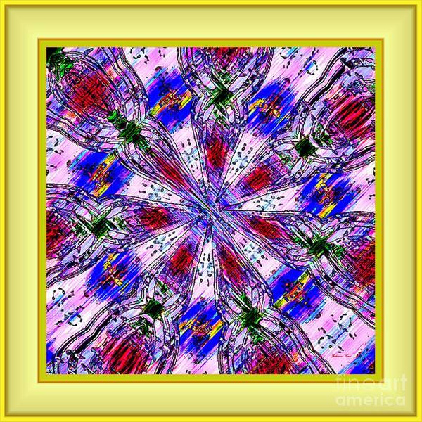 Abstract Art Paintings Poster featuring the digital art Darlyn by Fabrizio Terzi