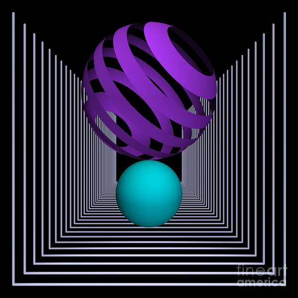 3d Poster featuring the digital art Depth -8- by Issabild -