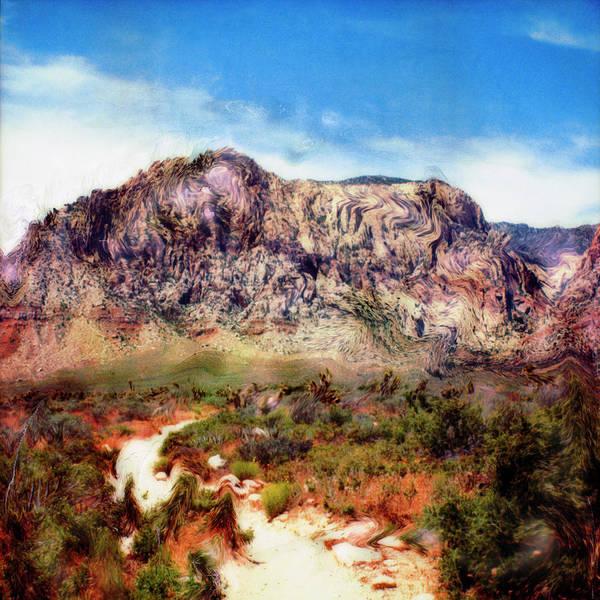 Paul Tokarski Poster featuring the photograph Desert Heat by Paul Tokarski