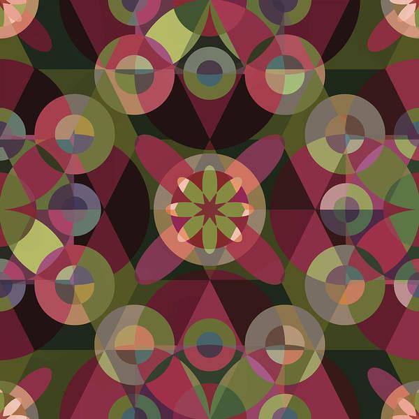Mandala Poster featuring the digital art Dream Garden by Fine Art Labyrinths