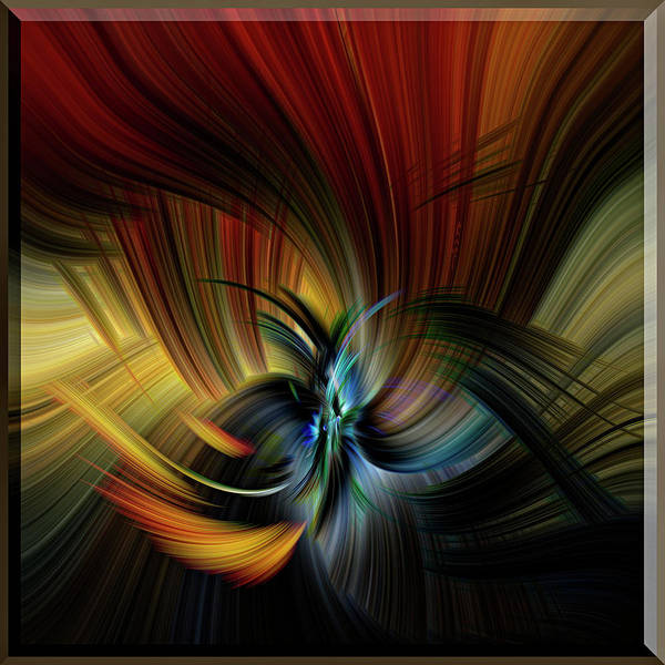 Design Poster featuring the digital art Emotional Release by Mark Myhaver