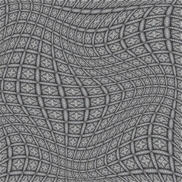 Poster featuring the digital art Fabric Design 19 by Karen Musick
