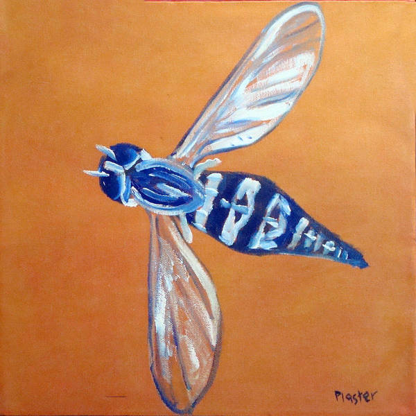 Flies Poster featuring the painting Fly West by Scott Plaster
