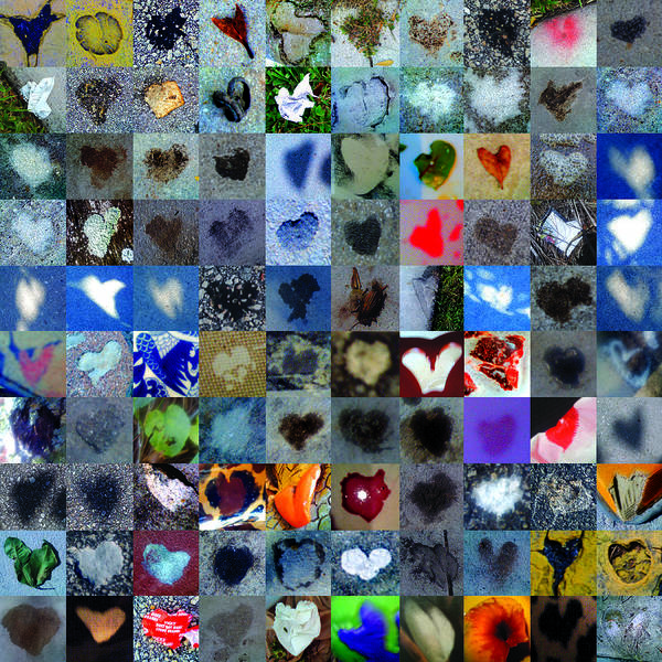 Heart Images Poster featuring the photograph Four Hundred Series by Boy Sees Hearts