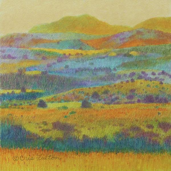 North Dakota Poster featuring the painting Golden Dakota Day Dream by Cris Fulton