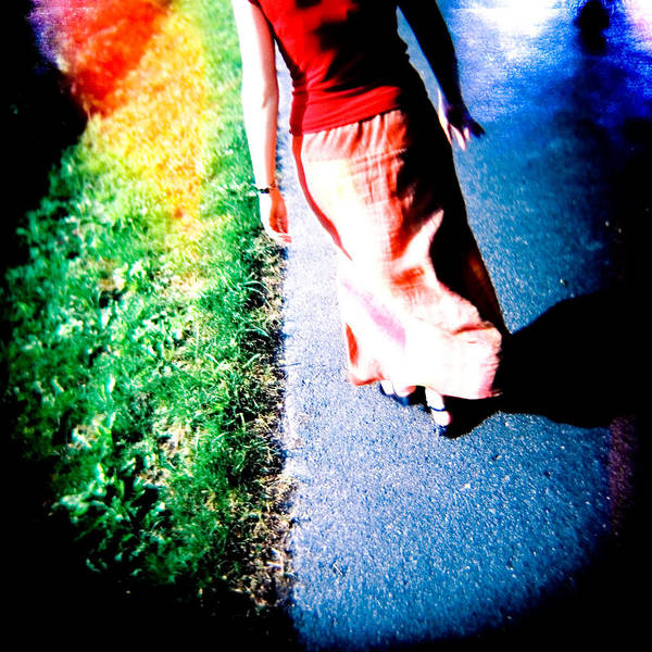 Color Photograph Holga Poster featuring the photograph Gone by Olivier De Rycke