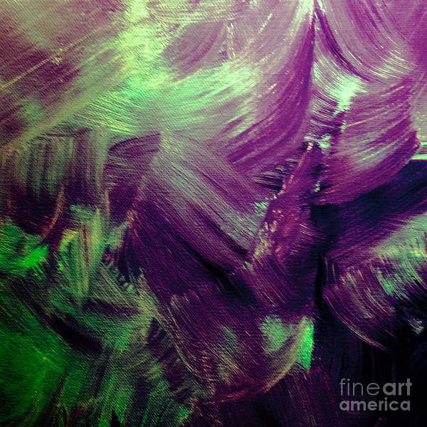 Abstract Poster featuring the painting Hopeless by Dirk Weed