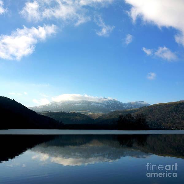 Auvergne Poster featuring the photograph Lake In Auvergne by Bernard Jaubert