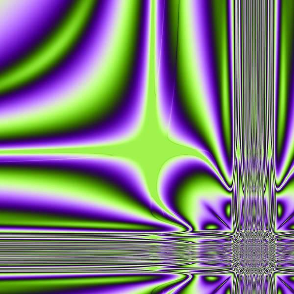 Algoritmic Poster featuring the digital art Lighting by Sfinga Sfinga