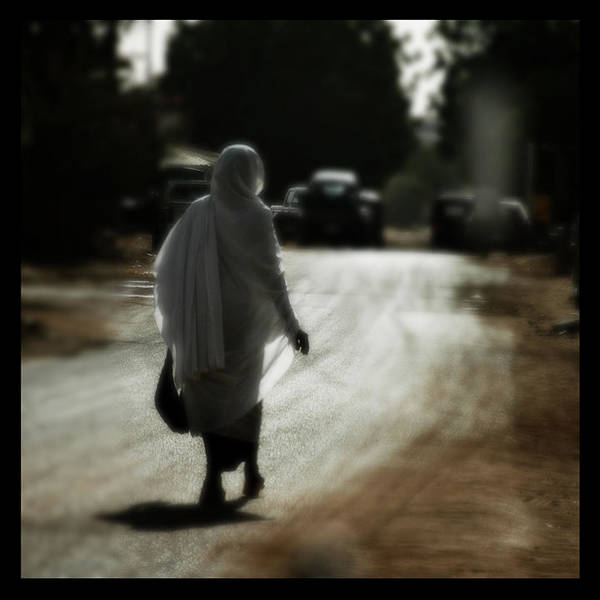 Sudan Poster featuring the photograph Long Walk Home by Sammy Khoo