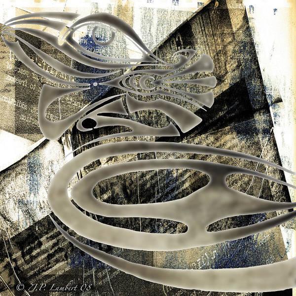 Design Poster featuring the digital art Mamallis by J P Lambert